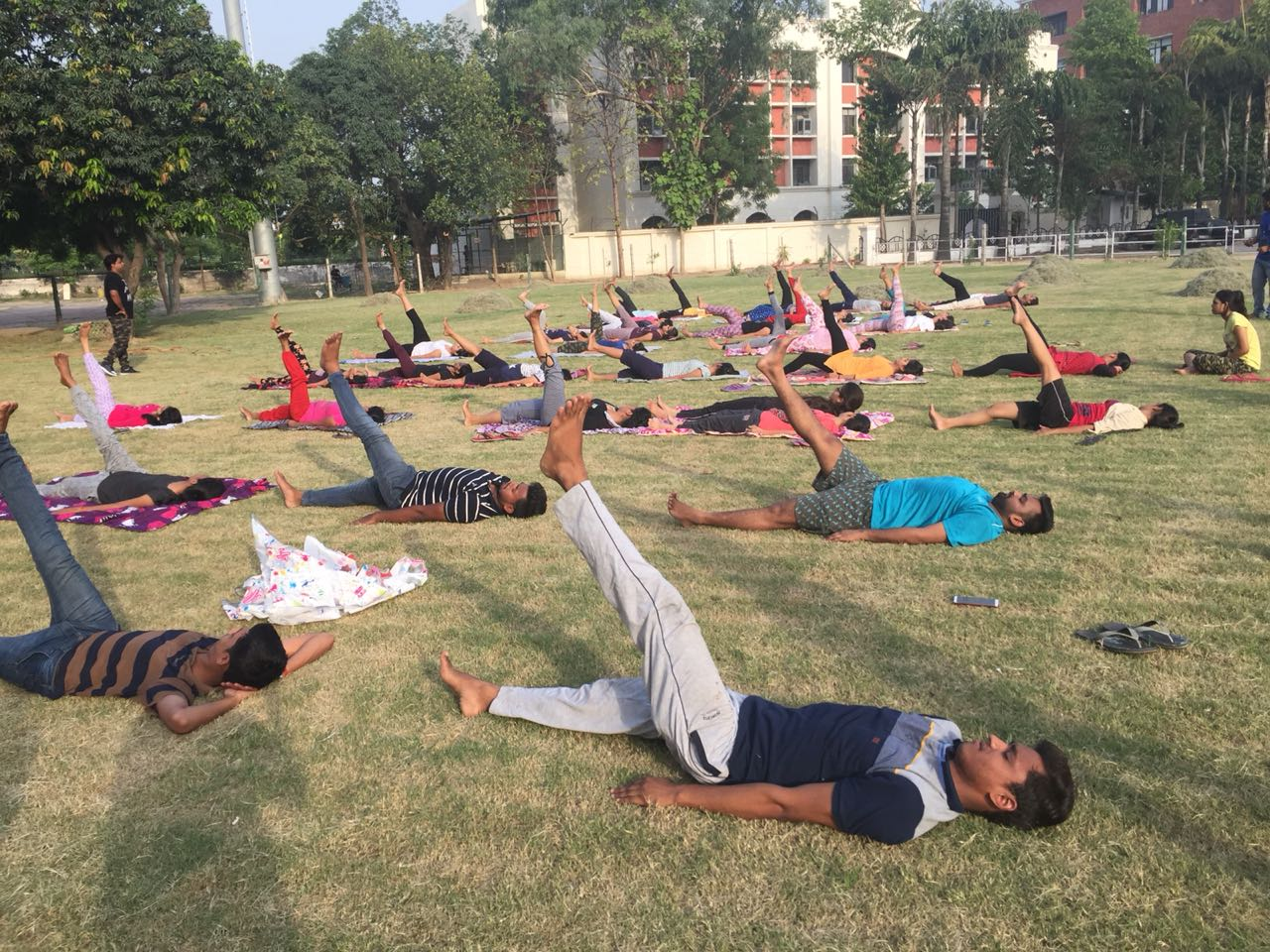 Yoga Day at BBDU
