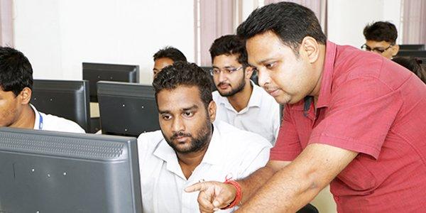 computer lab in bbdu